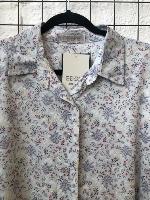 חולצת מיילי פרחוני תכלת