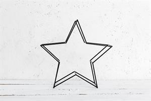 כוכב ברזל XL שחור
