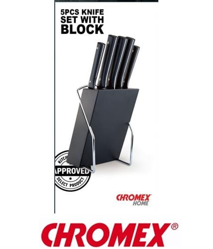 CHROMEX סט סכינים דגם CH-301
