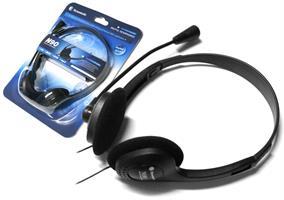 אוזניות מחשב חיבור 3.5MM