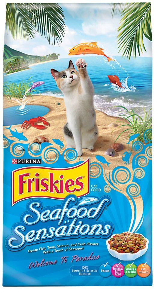 """פריסקיז לחתול 2.9 ק""""ג מאכלי ים כחול"""