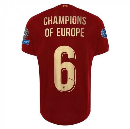 ליברפול חולצת זכיה בליגת האלופות - מהדורה מוגבלת!