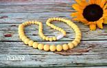 צהוב - שרשרת הנקה מסיליקון