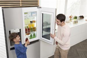 LG מקרר SBS InstaView Door in Door דגם GR251INS
