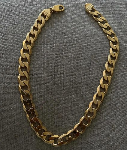 שרשרת גורמט זהב לורה