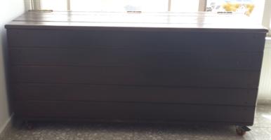 """ארגז אחסון /ספסל אחסון באורך 100 ס""""מ"""