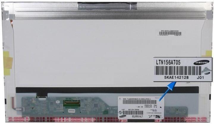 החלפת מסך למחשב נייד לנובו Lenovo G560 G565 Z580 Screen 15.6 1366x768 LED
