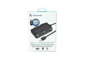 מפצל Type C לחיבור USB 3.0 עם 4 יציאות
