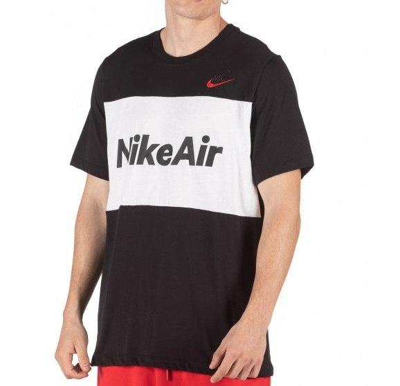 גברים | NIKE M NSW AIR TEE SS BLACK