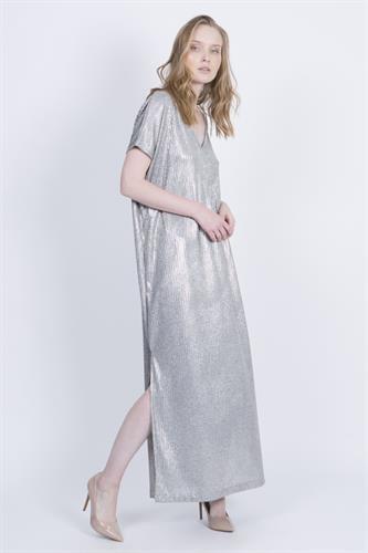 שמלת אליסון כסף