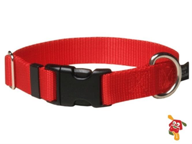 """קולר לכלב - אדום מידה S (מתאים עד 9 ק""""ג)"""