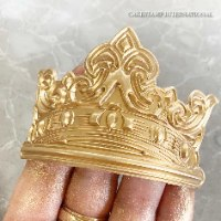 Royalty ARTHUR CROWN Chocolate mold | Crown DIY Sugar craft Fondant Chocolate Mold Decorating Tools
