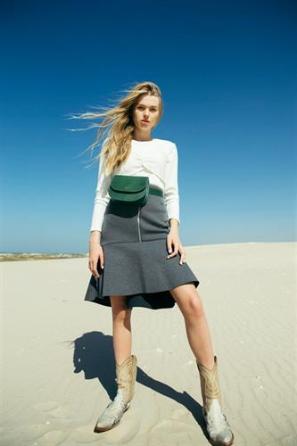 חצאית ניאופרין אפור
