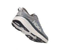 נעלי ריצה לגברים HOKA BONDI 7 WIDE בצבע אפור