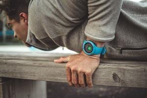 שעון סונטו עם דופק מהיד Suunto Trainer - Blue