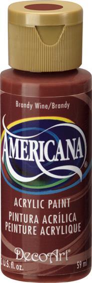 """צבע אמריקנה 59 מ""""ל Brandy Wine  DAO79"""