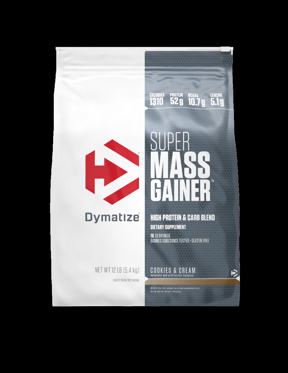 """דיימטייז סופר מאס גיינר 5.4 ק""""ג   Dymatize Super Mass Gainer"""