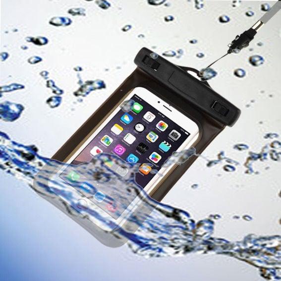 נרתיק נגד מים אכותי למכשירים סלולריים iPhone וסמסונג