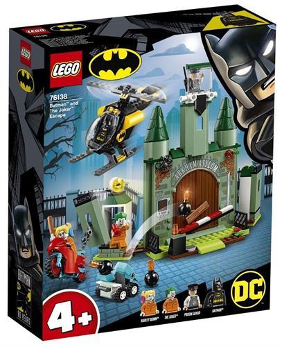 לגו DC הבריחה של הג'וקר ובאטמן 76138