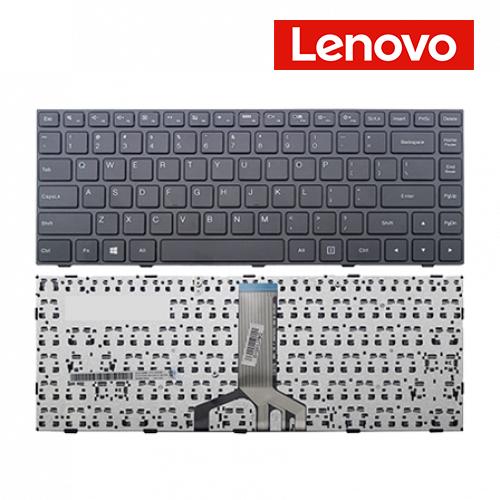 תיקון מחשב נייד - החלפת מקלדת לנובו Lenovo Ideapad 100-14Ibd Laptop Keyboard מקלדת בעברית