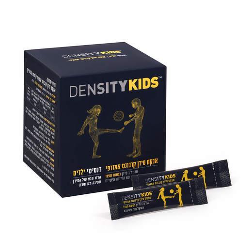 דנסיטי קידס לילדים - 60 אריזות אישיות באבקה - 150 מג ליחידה