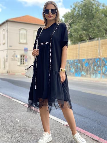 שמלה קיילי בשילוב טול