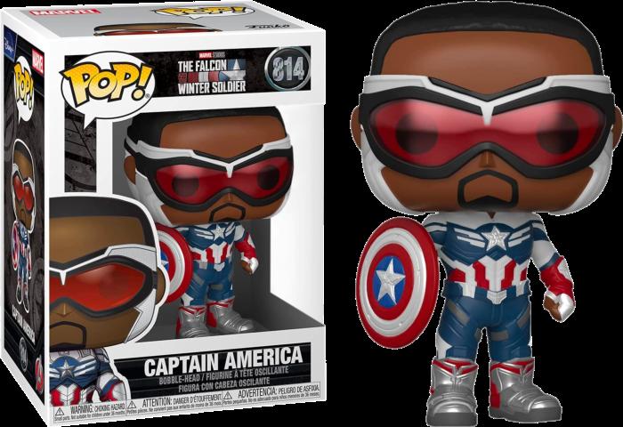 בובת פופ! הפאלקון וחייל החורף - פאלקון קפטן אמריקה