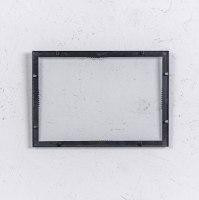 מסגרת ברזל (דו כיווני) שחור - גודל A4