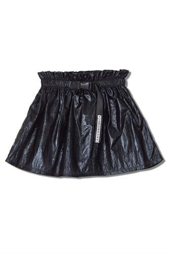 חצאית פלמינגו שחורה מטלי