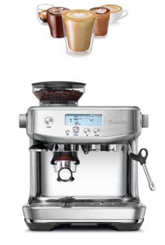 מכונת קפה דגם מבית BREVILLE ברוויל דגם BARISTA PRO BES878