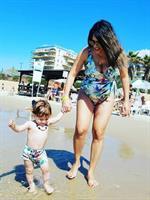 בגד ים שלם + בגד ים תואם לילד או ילדה