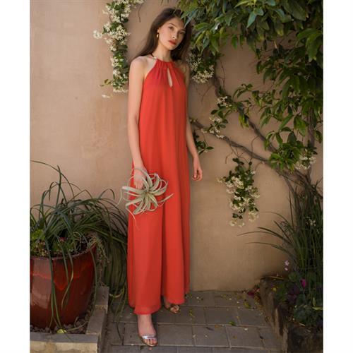 שמלת זוהרה אדומה