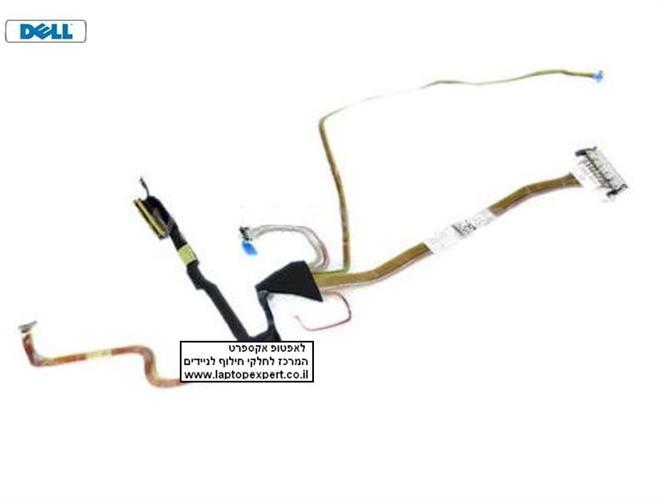 """כבל מסך למחשב נייד דל Dell Precision M6400 LCD Cable 17"""" 0K577F , K577F , DD0XM1LC100"""