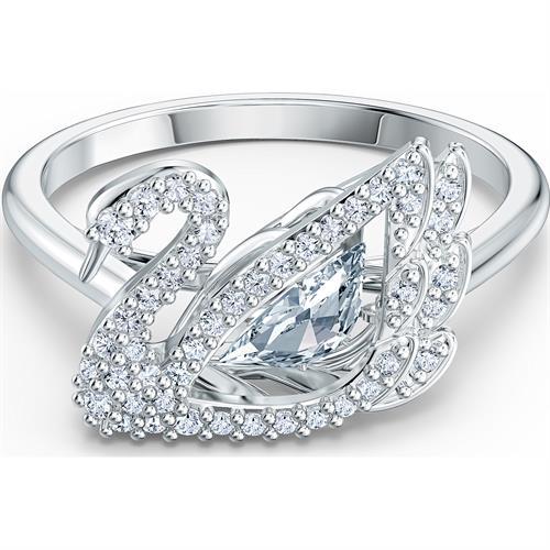 טבעת SWAROVSKI מקולקציית Dancing Swan ב