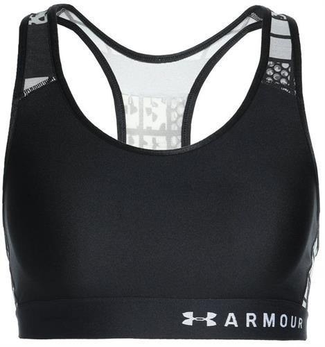 חזית ספורט אנדר ארמור1307198-001 Under Armour women's Mesh Mid Keyhole Bra