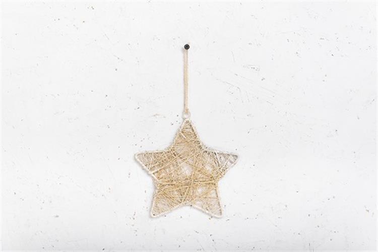 כוכב מיתרי ברזל - לבן מלוכלך L