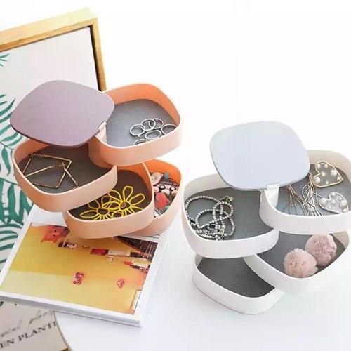 קופסא לאחסון תכשיטים 360 מעלות