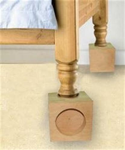 רגליות הגבהה למיטה
