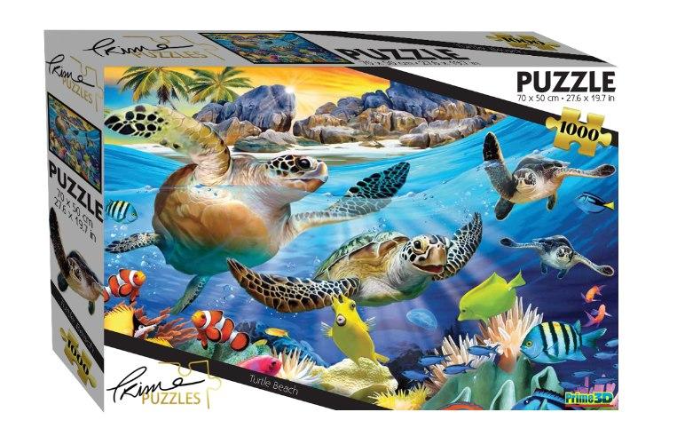 פאזל 1000 צבי ים