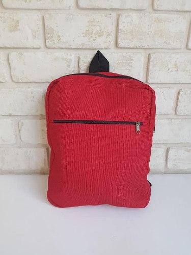 תיק גב - בד הילי אדום
