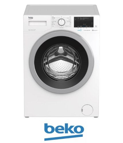 "beko מכונת כביסה 9 ק""גדגם WTV9633XSO"
