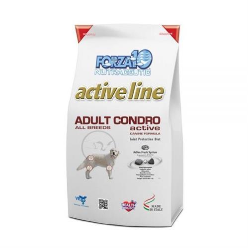 """מזון לכלבים פורזה אקטיב CONDRO בוגר 10 ק""""ג"""