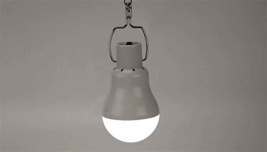 מנורה ניידת סולארית