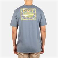 SURF AND ENJOY S/S SMOKE GREY