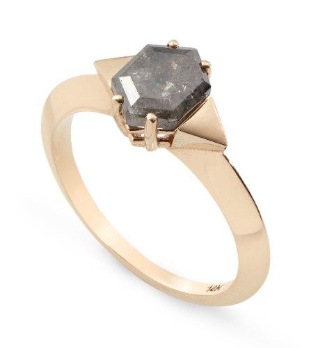 טבעת רנה זהב 14 קראט