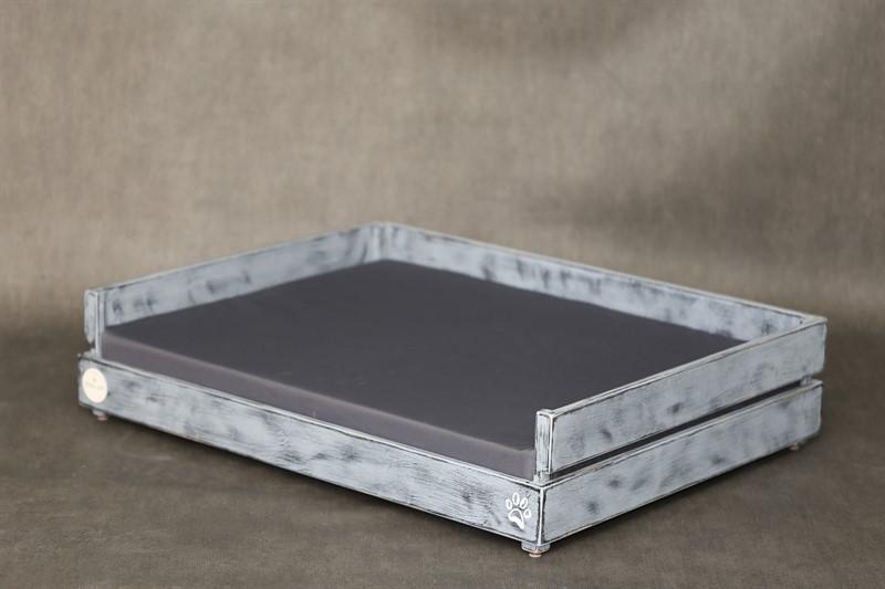 מיטה לכלב- דינגו M אפור בטון