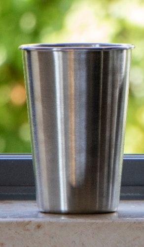 """כוס נירוסטה רב פעמית 500 מ""""ל"""