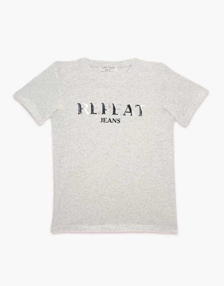 חולצה בנים ליקרה מעוצבת REPEAT