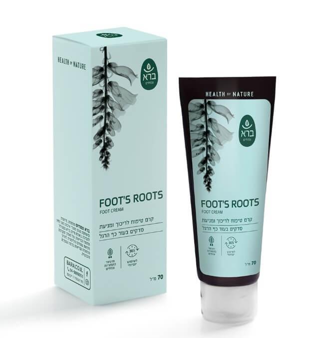 קרם לכף הרגל | Foot's Roots, Foot Cream