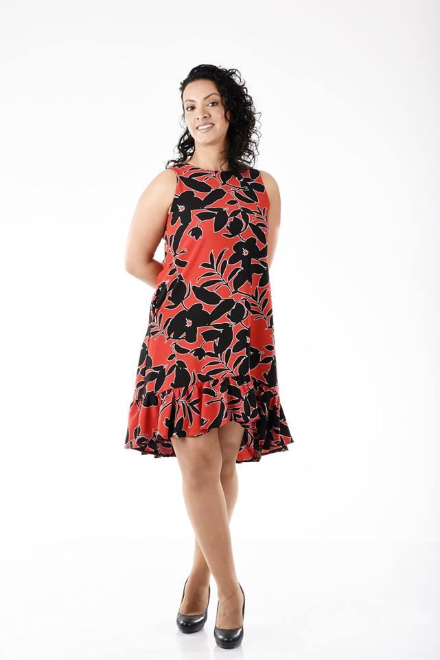 שמלה מרילין פרחים
